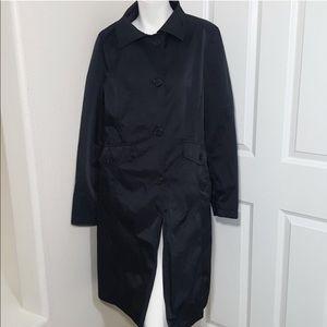 Michael Kors Black Rain and Trench Coat